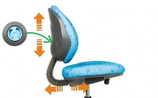 Ортопедическое детское кресло Y-120 разноцветное - фото y_120_regulirovki_.jpg