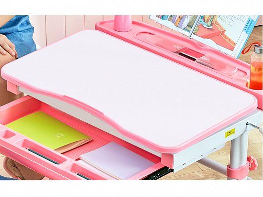 Комплект парта и стул Evo-kids Evo-19, 90 см (с лампой и подставкой) 4 цвета - фото desk.jpg
