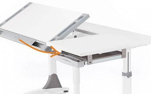 Стол трансформер Mealux King, 140см - фото detskiy_stol_mealux_king_bok_pol.jpg