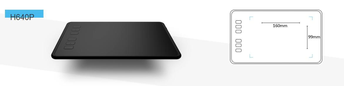 Графічний планшет HUION H640P - фото 2