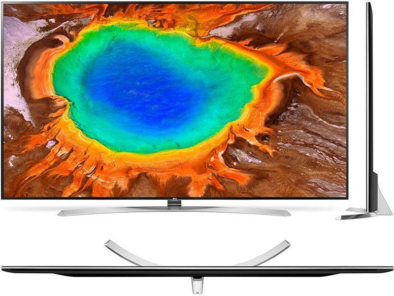 Новинки телевизоров LG 2018 - фото Super UHD 4K TV LG 86SJ957V