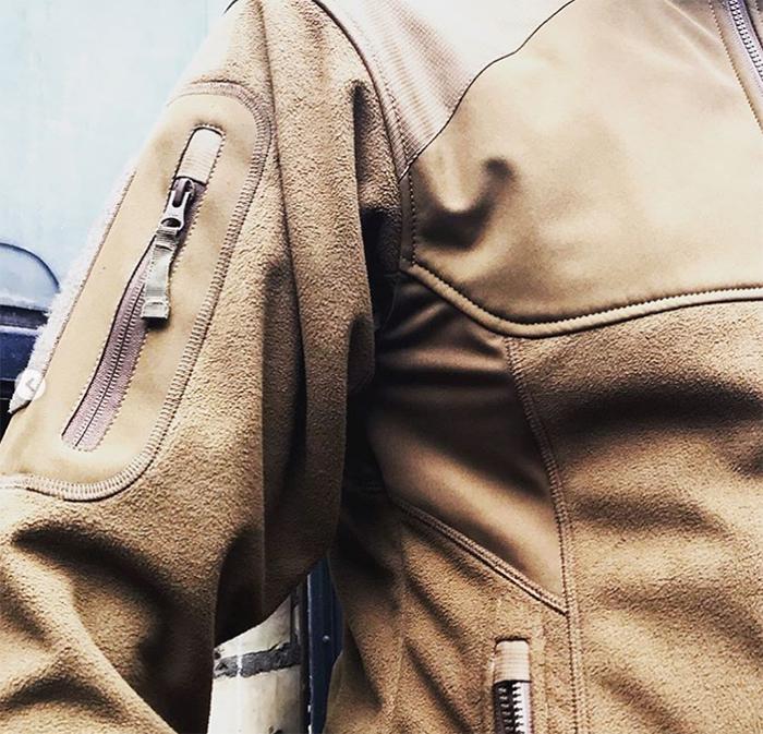Куртка Norman Windblock Fleece Black от М-тас - фото 5.jpg
