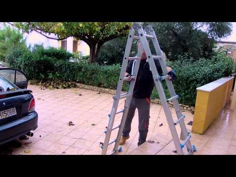 Двухсекционные лестницы - фото 1