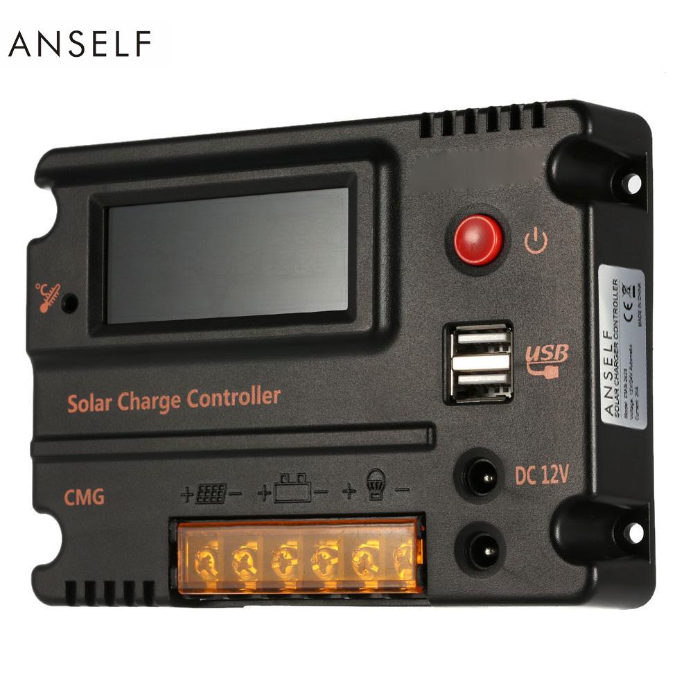 20A контроллер заряда солнечной панели Anself GMG-2420 с ЖК дисплеем, 12V/24V automatic - фото HTB1BoIwKVXXXXcoXFXXq6xXFXXXC.jpg