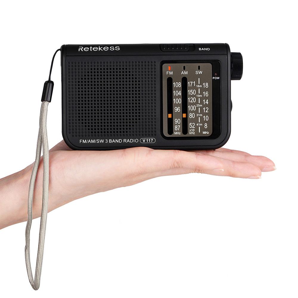 Портативный радиоприемник V-117-R FM/AM/SW с телескопической антенной, разъем для наушников (3,5 мм) - фото HTB1eY7ncHAaBuNjt_igq6z5ApXa8.jpg