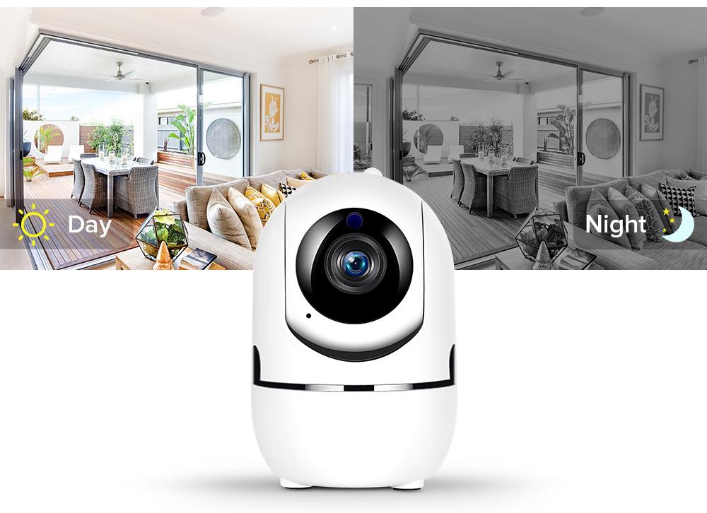 Поворотная Wi-FI камера Fredi Y7 1080P IP камера с записью в облако - фото 6