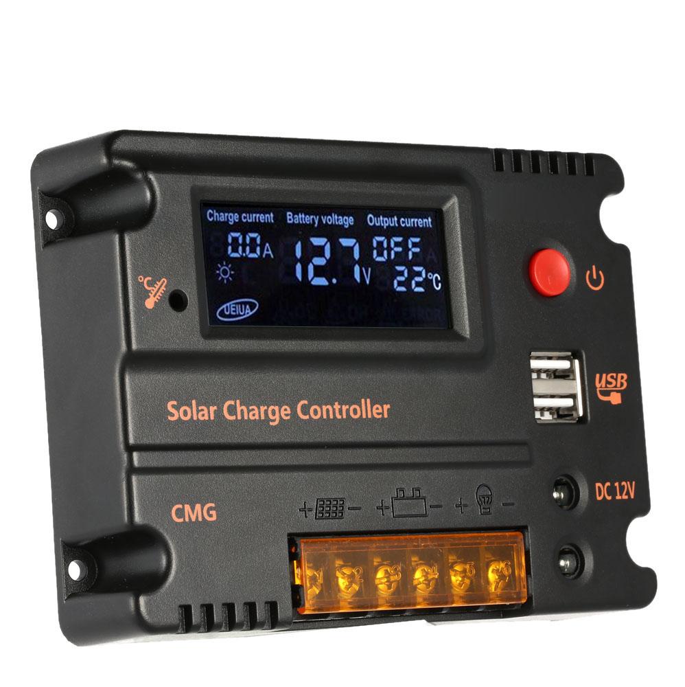 20A контроллер заряда солнечной панели Anself GMG-2420 с ЖК дисплеем, 12V/24V automatic - фото HTB1ciEmKVXXXXXXaXXXq6xXFXXXM.jpg