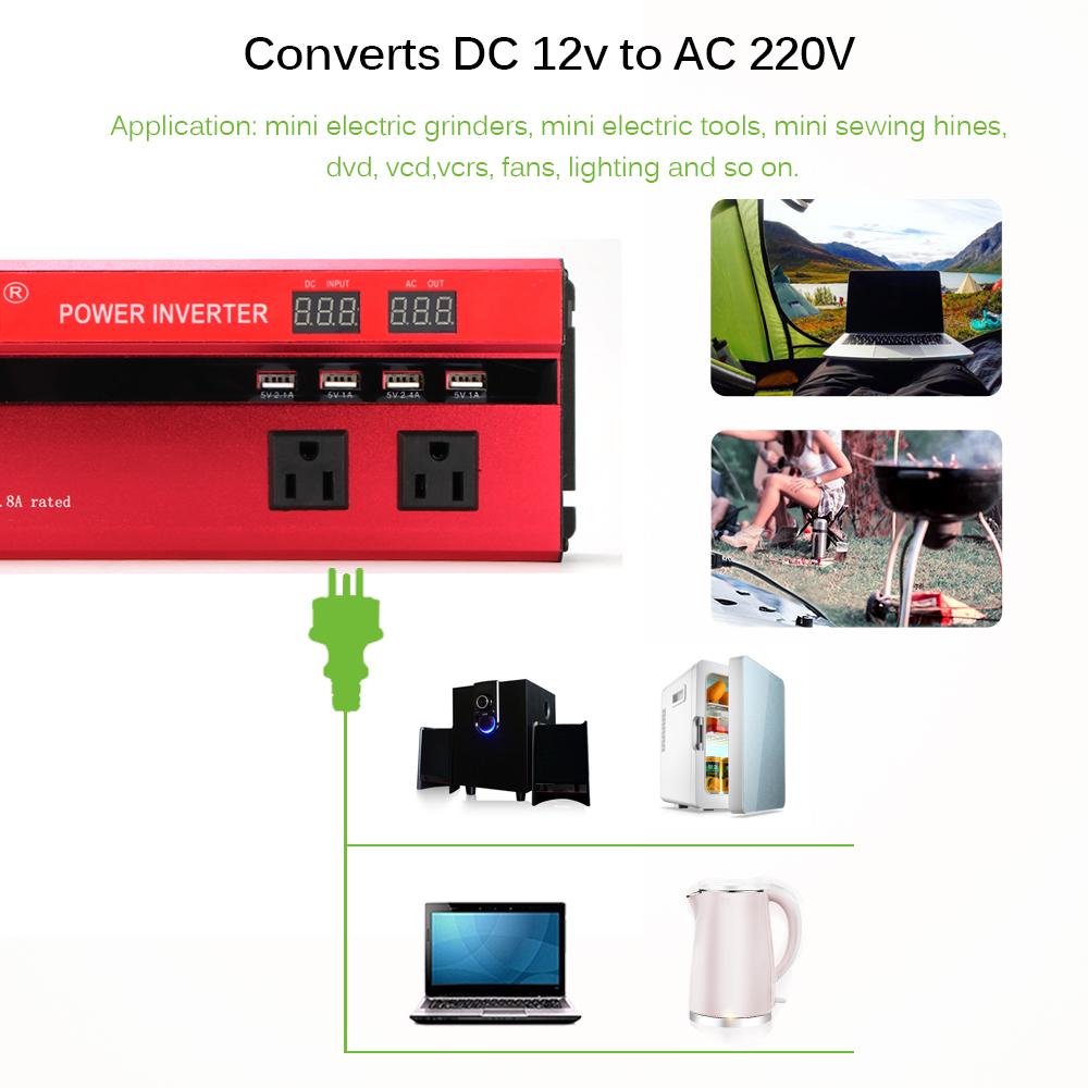Преобразователь напряжения (инвертор) 4000Вт/5000Вт DC/AC 12В-220В 2хдисплея, 4хUSB - фото HTB1Sp3iFXuWBuNjSszbq6AS7FXay.jpg