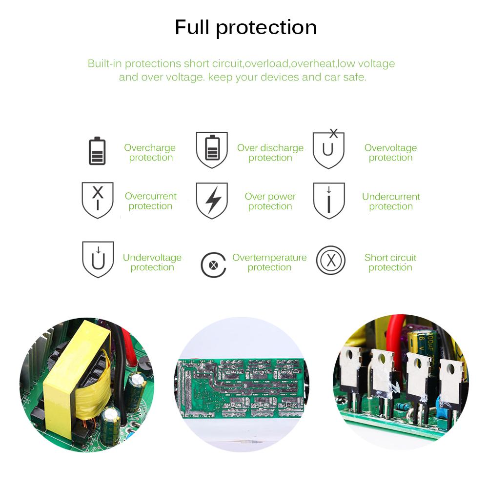 Преобразователь напряжения (инвертор) 4000Вт/5000Вт DC/AC 12В-220В 2хдисплея, 4хUSB - фото HTB10QBeFrSYBuNjSspfq6AZCpXa9.jpg