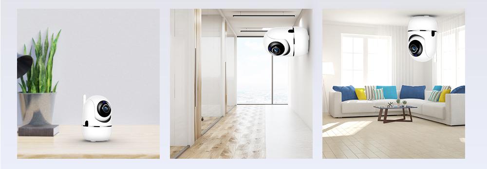 Поворотная Wi-FI камера Fredi Y7 1080P IP камера с записью в облако - фото 15