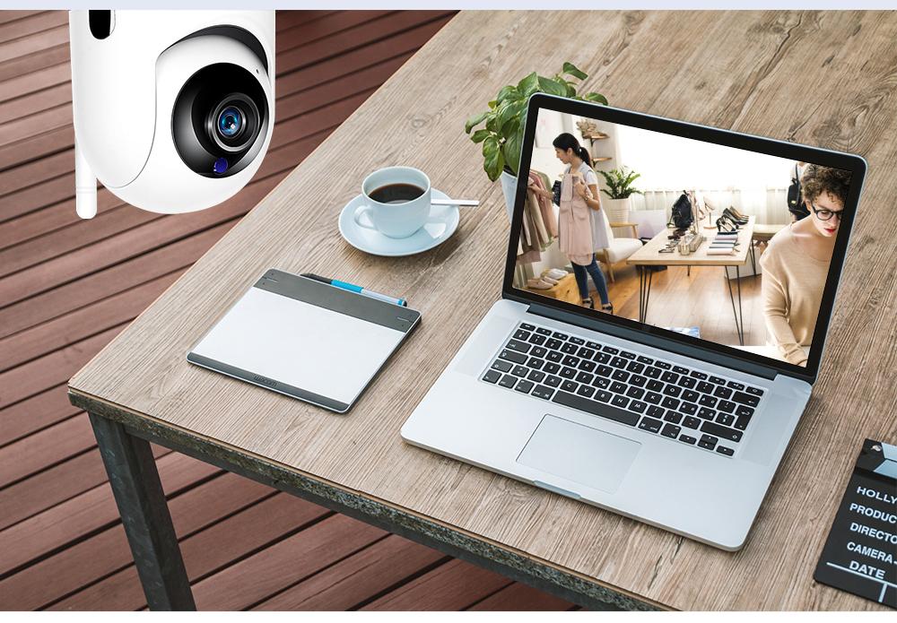 Поворотная Wi-FI камера Fredi Y7 1080P IP камера с записью в облако - фото 14