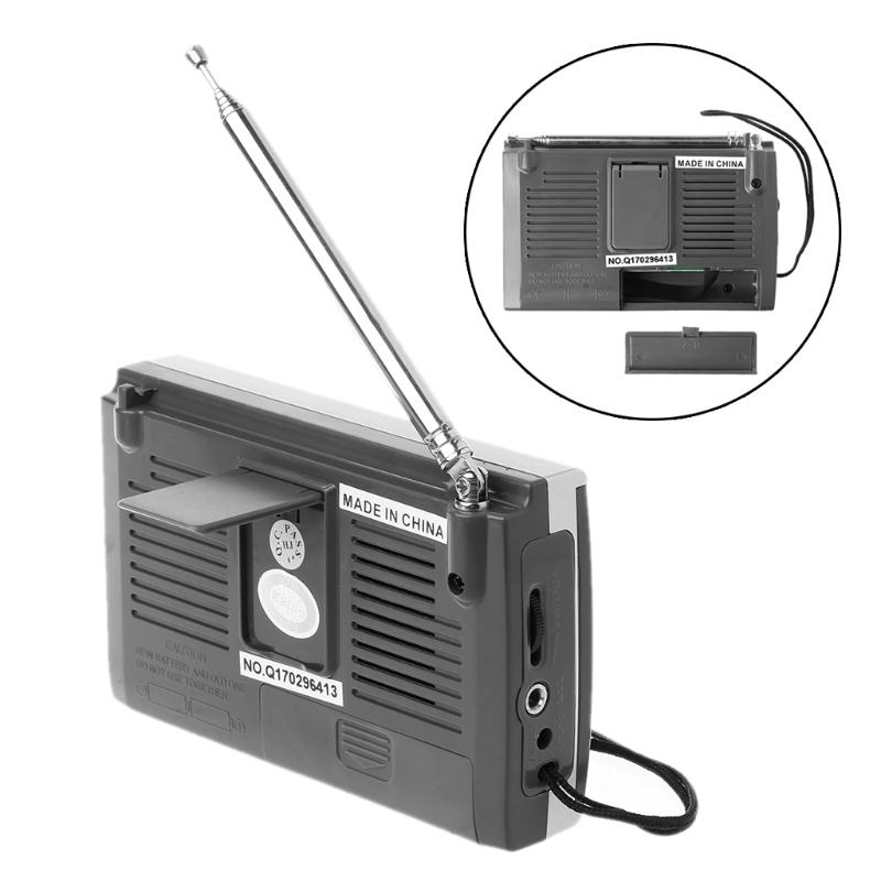 FM/MW/SW1-8 10-полосный высоко чувствительный радиоприемник с откидной подставкой Kchibo KK-9803 - фото 4N20327-2