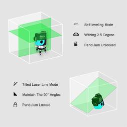 Бирюзовые SHARP диодыСАМЫЕ ЯРКИЕ 3D лазерный нивелир DEKO LL12-HVG《12 линий 》2 Li-ion 2600мАч - фото HTB1ibGuzuuSBuNjy1Xcq6AYjFXab.jpg