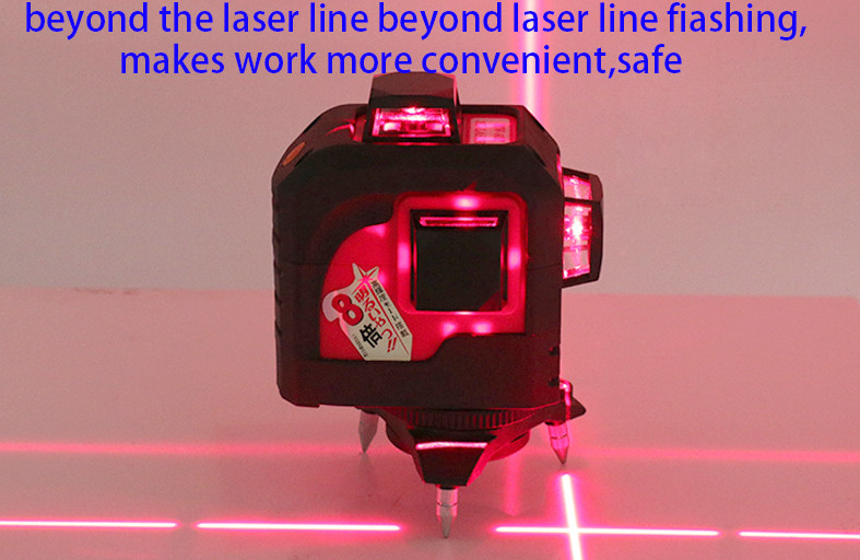 For Fukuda 12 Lines 3D Laser Level Self-Leveling 360 Horizontal And Vertical Cross Super Powerful Red Laser Beam Line (1)