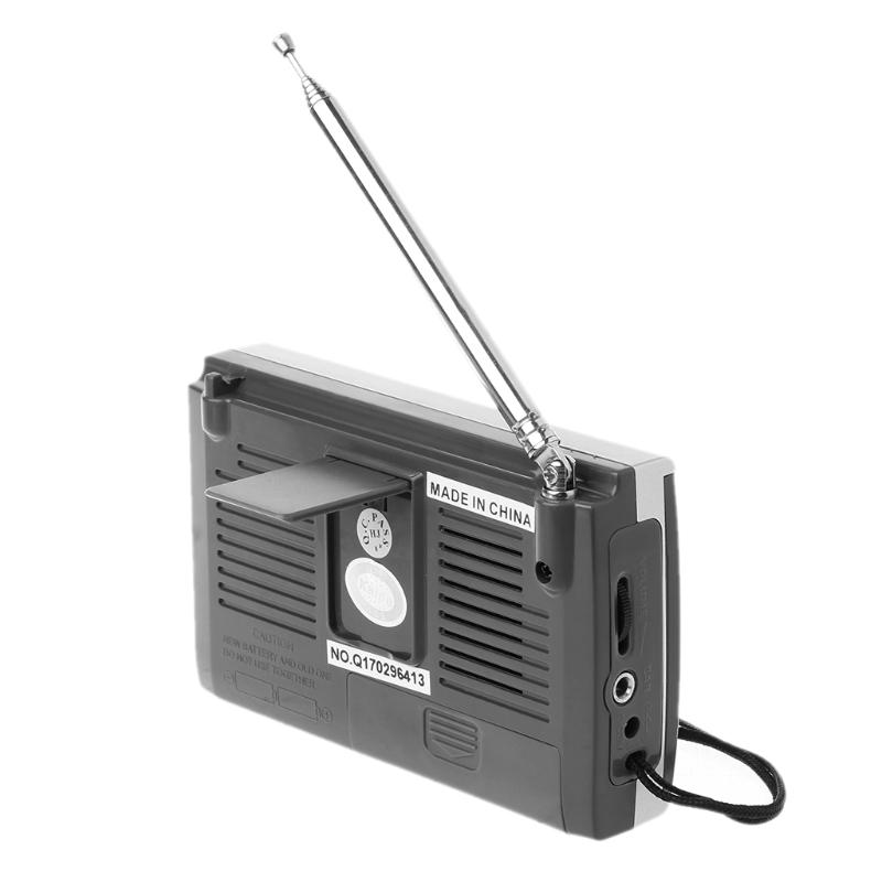 FM/MW/SW1-8 10-полосный высоко чувствительный радиоприемник с откидной подставкой Kchibo KK-9803 - фото 4N20327-6