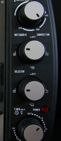 Электродуховка с конвекцией MAGIO MG-251BL (объем 40л, конвекция) - фото upload
