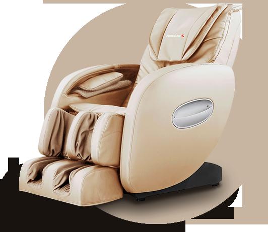 Массажное кресло HomeLine S бежевый - фото 2