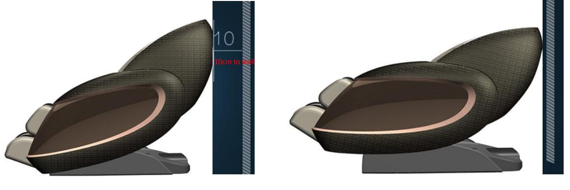 Массажное кресло Pilot II бордовый - фото 2