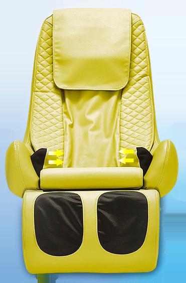 Массажное кресло Rokit салатовый - фото 16