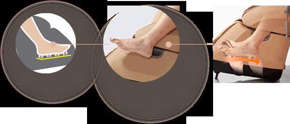 Массажер для ног uPlato черный - фото 5