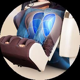 Массажное кресло Dreamline III - фото Традиционный массаж