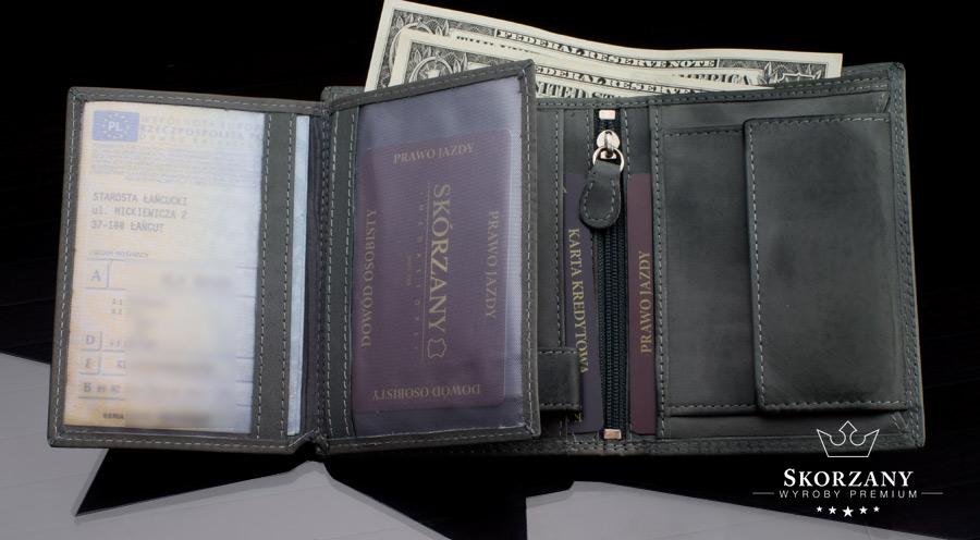 portfele Always Wild - schowek na dowód rejestracyjny