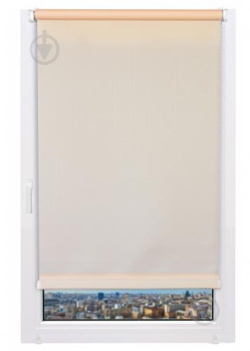 Ролета мини Delfa Лен 68x160 см абрикосовая - фото 7