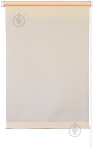 Ролета мини Delfa Лен 68x160 см абрикосовая - фото 6