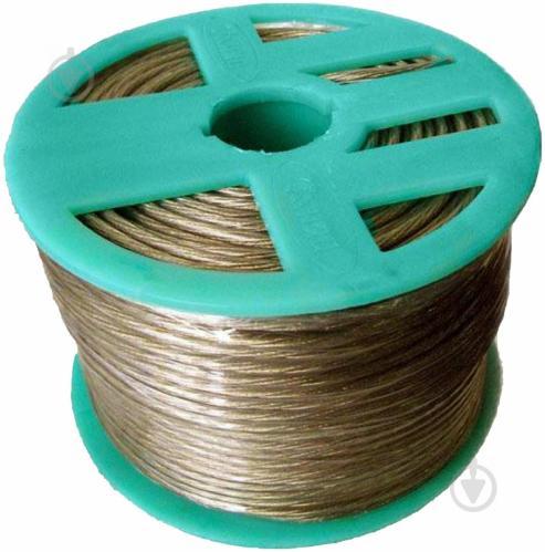 Трос металлополимерный ПР-3.0 мм желтый - фото Трос металлополимерный ПР-3.0 мм желтый - фото 3