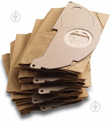 Мешок бумажный Karcher MV 2 5 шт. 6.904-322 - фото 2