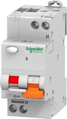 Дифференциальный автомат Schneider Electric АД 63 16 А 30 мА C 11473 - фото 2