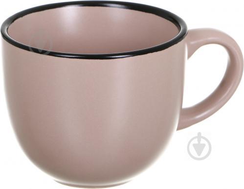 Чашка с блюдцем Matte 240 мл бежевая - фото 6