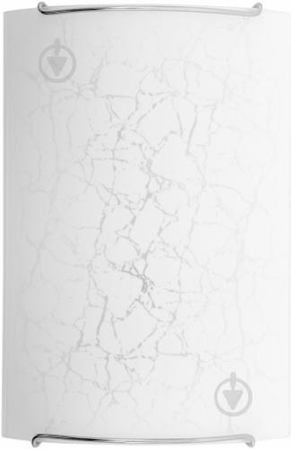 Светильник настенно-потолочный Nowodvorski CRACKS 1 1x60 Вт E14 белый с рисунком - фото 4