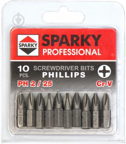 Бита Sparky PH2x25 мм 10 шт. 20009720409 - фото 2