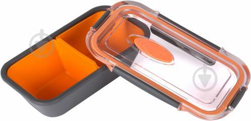Контейнер с отделением BENTO BOX 0,5л пластик Emsa - фото 3