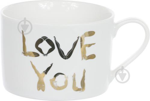 Чашка с блюдцем Любовь 220 мл Lefard - фото 5