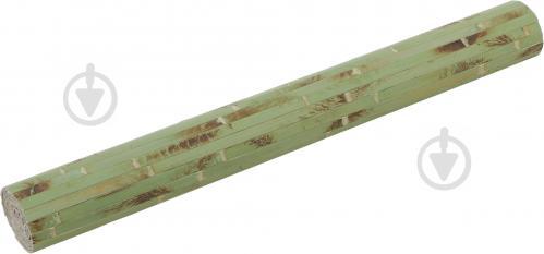 Обои бамбуковые LZ - 0816А 17/11 мм 1,5 м зеленые опаленные - фото 6