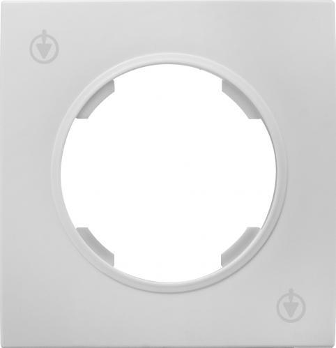 Рамка HausMark Bela универсальная белый SNG-FRP. RD20G1-WH - фото Рамка HausMark Bela универсальная белый SNG-FRP.RD20G1-WH - фото 2