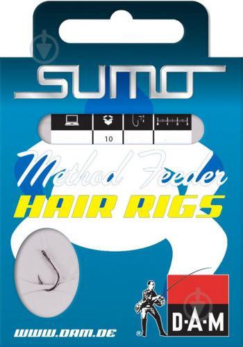 Крючок DAM Sumo Runner Hair №10 10 шт. 6883010 - фото 2