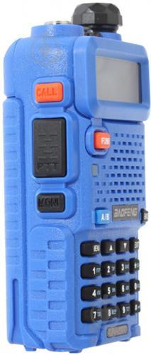 Рация Baofeng UV-5R Blue - фото 5