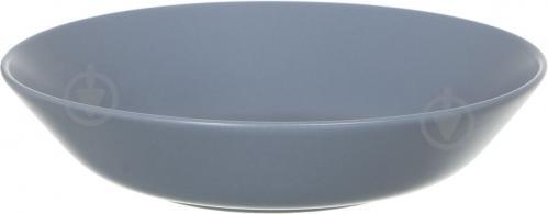 Тарелка суповая Dark 22 см - фото 4