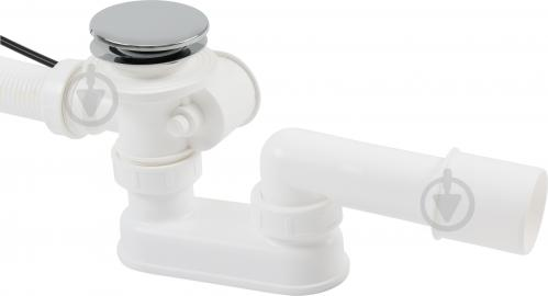 Сифон для ванны Alcaplast автомат комплект металл 57cm A55KM-57 - фото Сифон для ванны Alcaplast автомат комплект металл 57cm A55KM-57 - фото 9