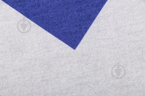 Комплект постельного белья Зигзаг 1,5 синий с белым UP! (Underprice) - фото 11