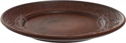 Тарелка десертная дымленая 20 см с рисунком - фото 4