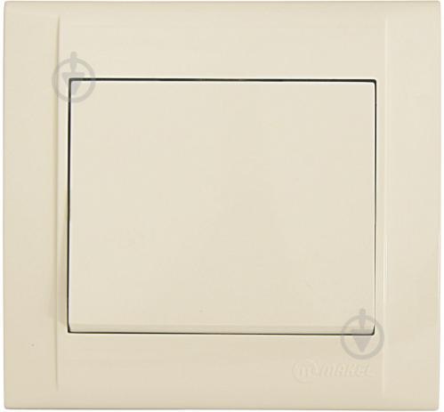 Выключатель проходной одноклавишный Makel Defne без подсветки 10 А 250В кремовый 42010005 - фото 2