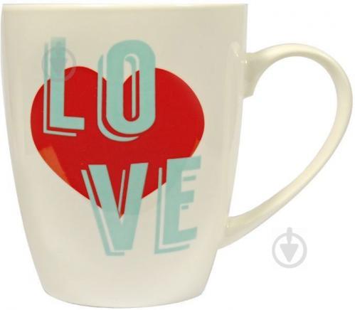 Чашка Love 360 мл 21-272-021 Keramia - фото 2