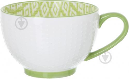Чашка для чая Mix & Match A130523 450 мл LIGHT GREEN - фото 3