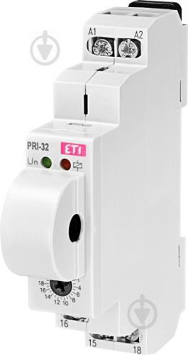 Реле контроля тока ETI PRI-32 UNI 24-240V AC, 24V DC (1..20A) 1x8A_AC1 - фото 2