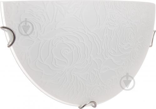 Светильник настенный Декора НББ Розетта-2 1/2 1x60 Вт E27 белый 24311 W - фото 6