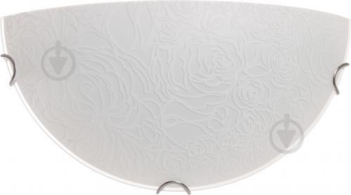 Светильник настенный Декора НББ Розетта-2 1/2 1x60 Вт E27 белый 24311 W - фото 5